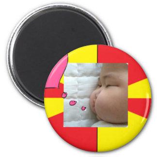 snapshot Baby Vic Inc 2. 6 Cm Round Magnet