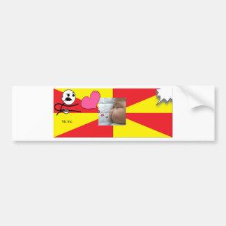 snapshot Baby Vic Inc 2. Bumper Sticker