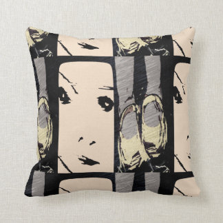 """Snapshot"" You and Me Throw Cushion"
