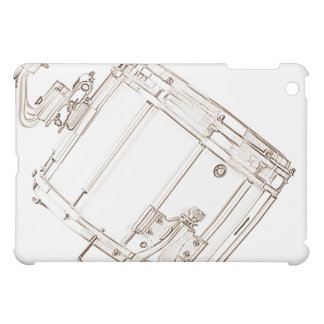 Snare Drum Drawing ipad Speck Case Cover For The iPad Mini