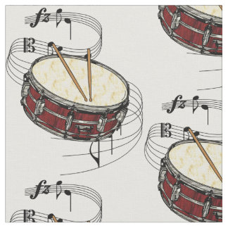 Snare Drum Fabric