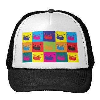 Snare Drum Pop Art Cap