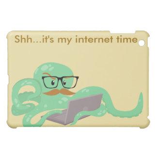 Snarktopus Internet Octopus iPad Mini Cases