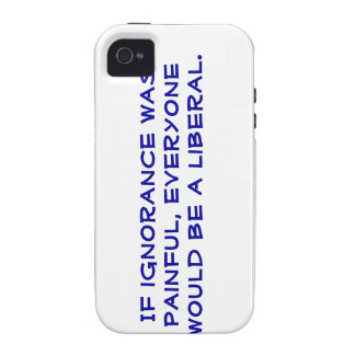 Snarky, pro-Liberal iphone 4s case. iPhone 4 Cover