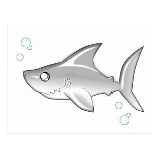 Snarky Shark Postcard