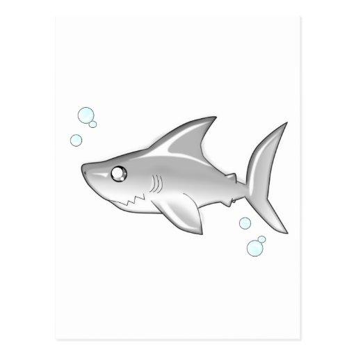Snarky Shark Postcards