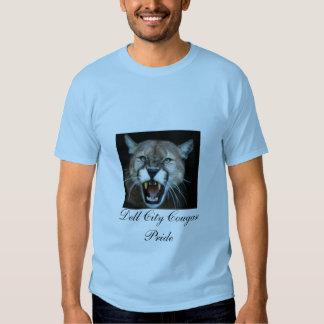 Snarling Cougar, Dell City Cougar Pride Tee Shirt