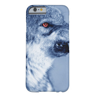 Snarling wolf (Canis Lupus), profile ( Barely There iPhone 6 Case
