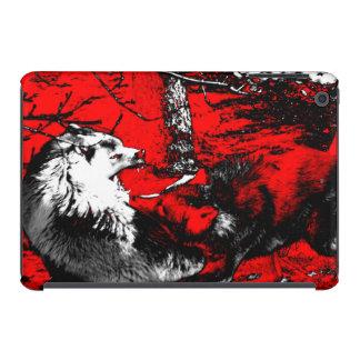 Snarling Wolf Wars Designer iPad Mini Retina Covers