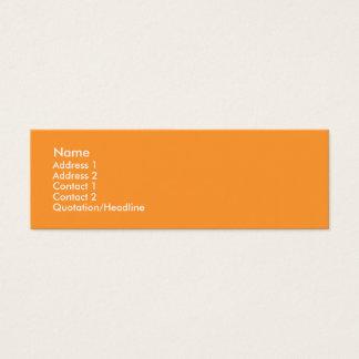 Snazziness Mini Business Card