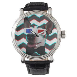 Snazzy 3D Dog Wristwatch