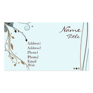 Snazzy Business Card Templates