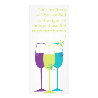 Snazzy Champagne Full Color Rack Card