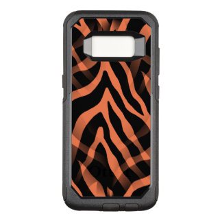 Snazzy Coral Zebra Stripes OtterBox Commuter Samsung Galaxy S8 Case