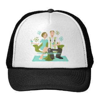 Snazzy Couple Trucker Hats