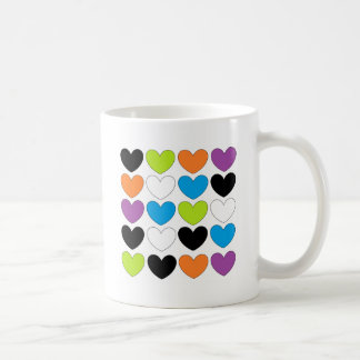 Snazzy Hearts Coffee Mugs