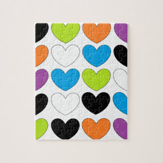 Snazzy Hearts Jigsaw Puzzle