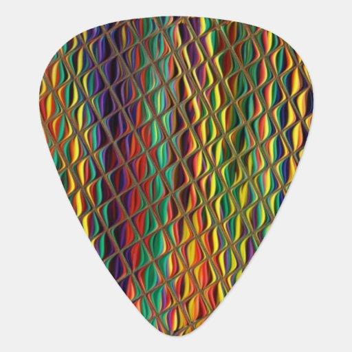 Snazzy Jazzy Guitar Pick