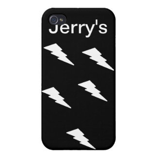 Snazzy Lightning Bolt Phone Cover For iPhone 4