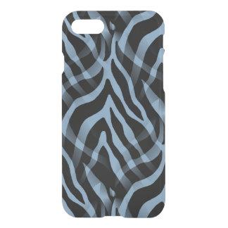 Snazzy Sky Blue Zebra Stripes iPhone 7 Case