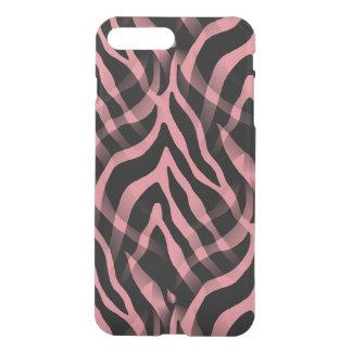 Snazzy Strawberry Pink Zebra Stripes iPhone 7 Plus Case
