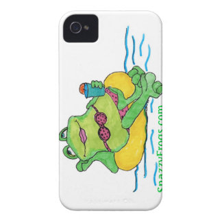 SnazzyFrogs June Frog Case-Mate iPhone 4 Cases
