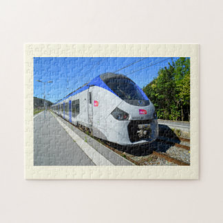 SNCF local train Jigsaw Puzzle