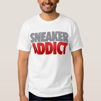 Sneaker Addict Speckled T Shirt