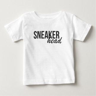 Sneaker Head Print Baby T-Shirt