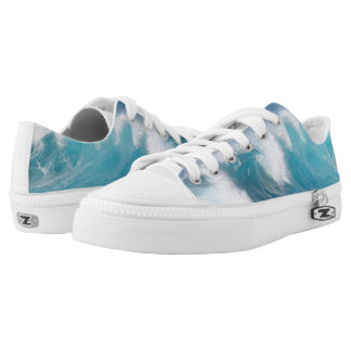 Sneaker Wave Printed Shoes