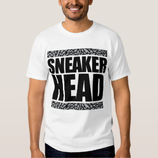 Sneakerhead Black Out Cement T-shirts