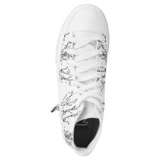 Sneakers boots Bird. Sneakers hight top Birds