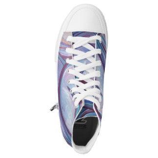Sneakers boots lilacs/Sneakers boat purple