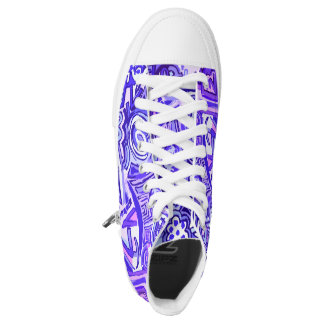 Sneakers boots violet. Sneakers hight top Violet