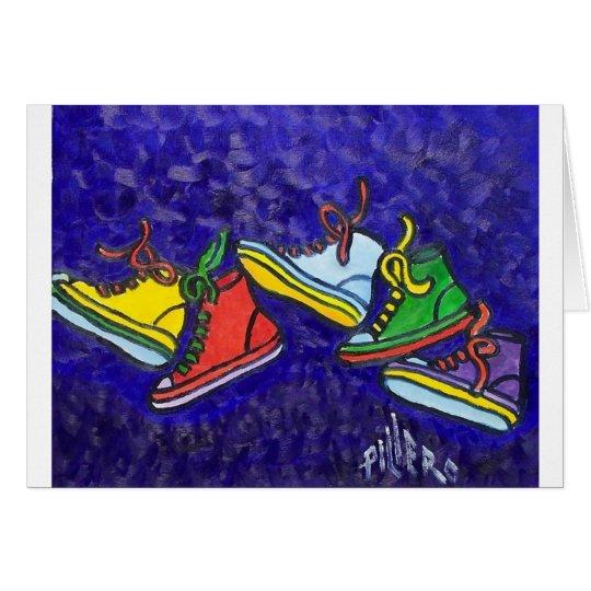 Sneakers Card