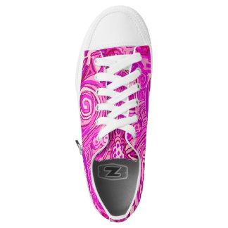 Sneakers of pink design