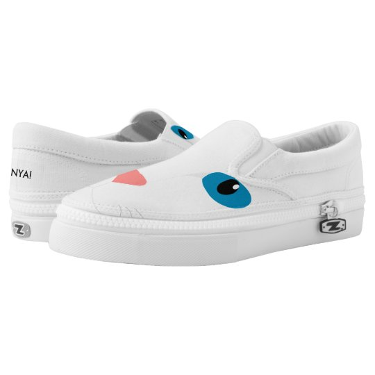 Sneakers White Cat