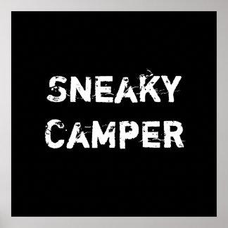 Sneaky Camper Gamer Print