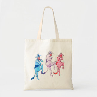 Sneaky Cows Tote Bag