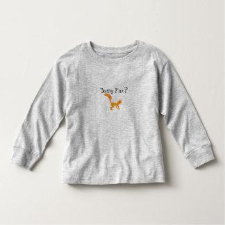 Sneaky Fox Toddler Tshirts