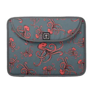 Sneaky Octopus Pattern MacBook Pro Sleeves