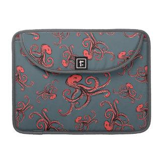 Sneaky Octopus Pattern MacBook Pro Sleeves