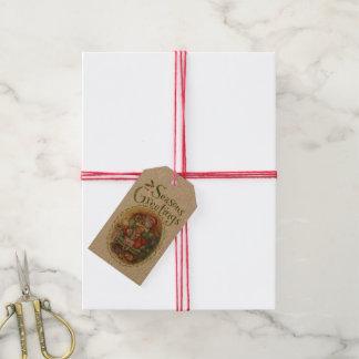Sneaky Santa Gift Tags