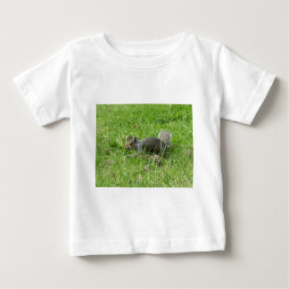 Sneaky Squirrel Baby T-Shirt