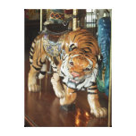 Sneaky Tiger Gallery Wrapped Canvas