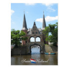 Sneek Water Gate Holland Postcard