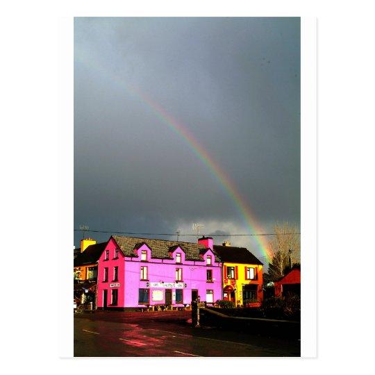 Sneem Rainbow Ring of Kerry Postcard