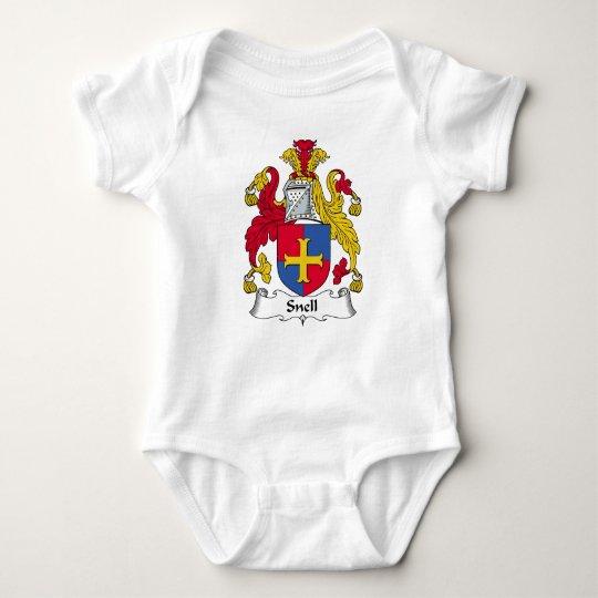 Snell Family Crest Baby Bodysuit
