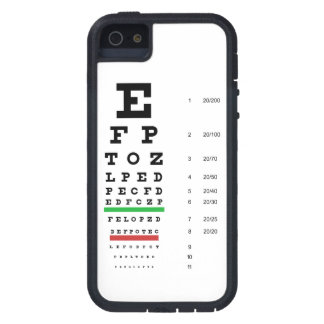 Snellen Eye Chart Case For The iPhone 5