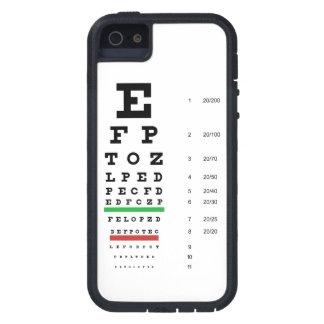 Snellen Eye Chart iPhone 5 Covers
